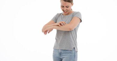 alergie na prací prášek