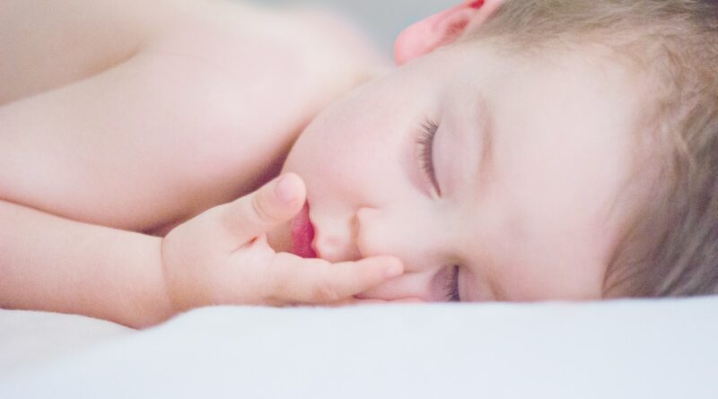 zdravý spánek dětí