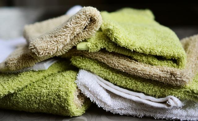 Vyprané ručníky