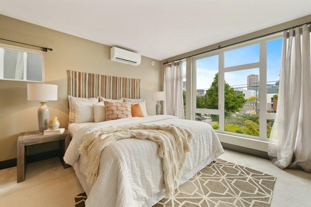 Přijemná ložnice