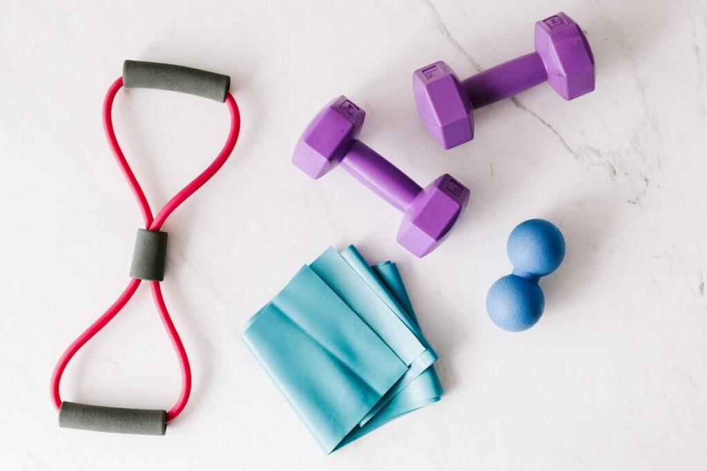 pomůcky na cvičení doma